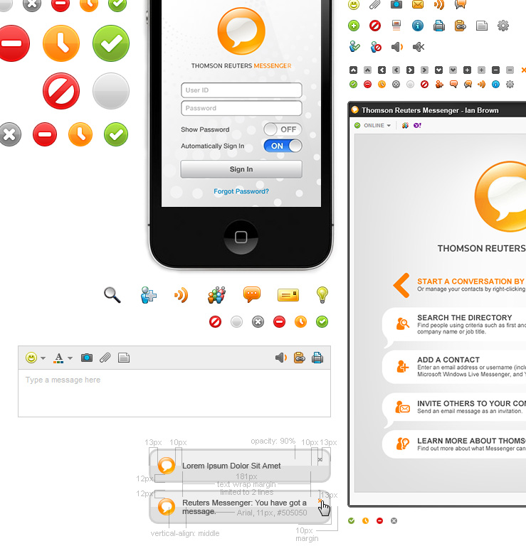 Thomson Reuters Messenger Overview