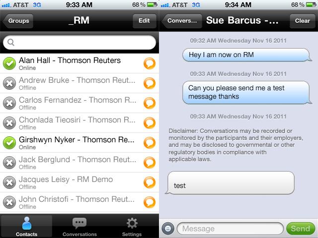 iPhone Conversation