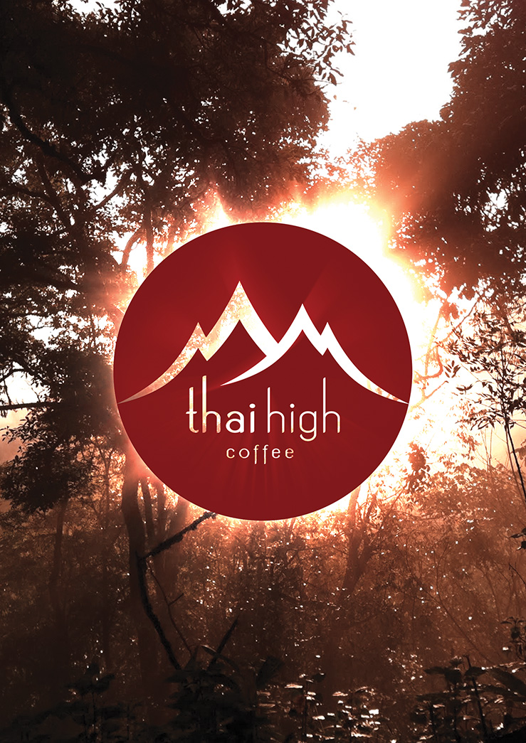 Thai High Logo Over Photo